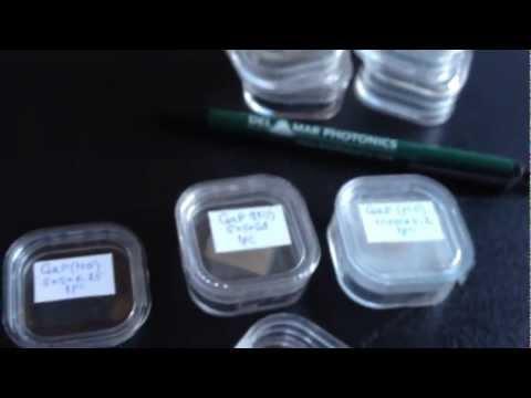 Gallium Phosphite (GaP) crystals and wafers sales@dmphotonics.com