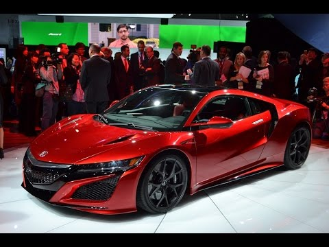 2016 Honda Nsx Acura Sport Car Hybrid Preview Youtube