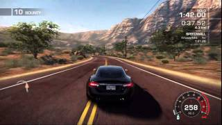 Need For Speed Hot Pursuit Career Memorial Valley Sidewinder Time Trial Gold HD