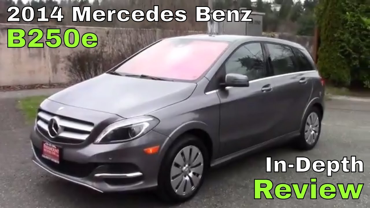 2017 Mercedes Benz B250e Review
