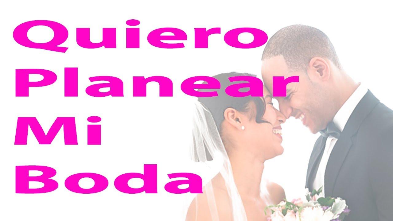 Quiero planear mi boda aprende como organizar la boda de - Como planear una boda ...