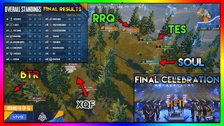 FINAL match of PMCO 2019 || Final Result + Celebration || HIGHLIGHT #77