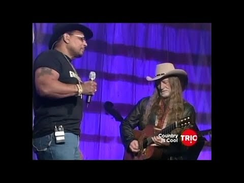 Willie Nelson Stars and Guitars 2002 - Stardust with Aaron Neville