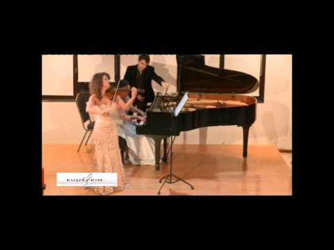 Nimrod Borenstein: Souvenirs opus 49 performed live by Irmina Trynkos & Saori Haji