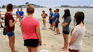 Rutgers at The Shore Offers Summer Class on Beach