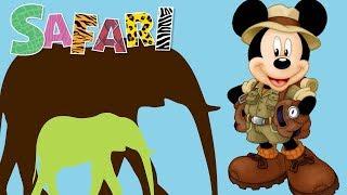 Przyjaciele na Safari #43 • Disney • Słonica Emilia • Encyklopedia zwierząt z zabawkami
