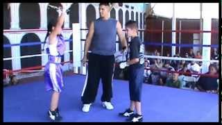 *MUST SEE* 8 yr. Old Little Girl Fights Boy & Makes Him Cry. ....
