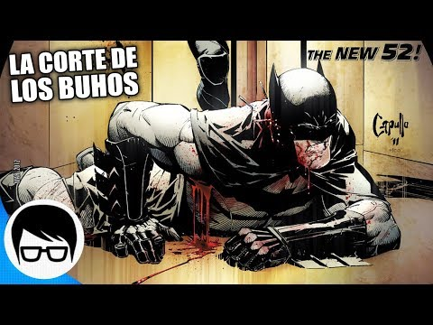 BATMAN VS LA CORTE DE LOS BUHOS | Batman The New 52 #1-6 | COMIC NARRADO