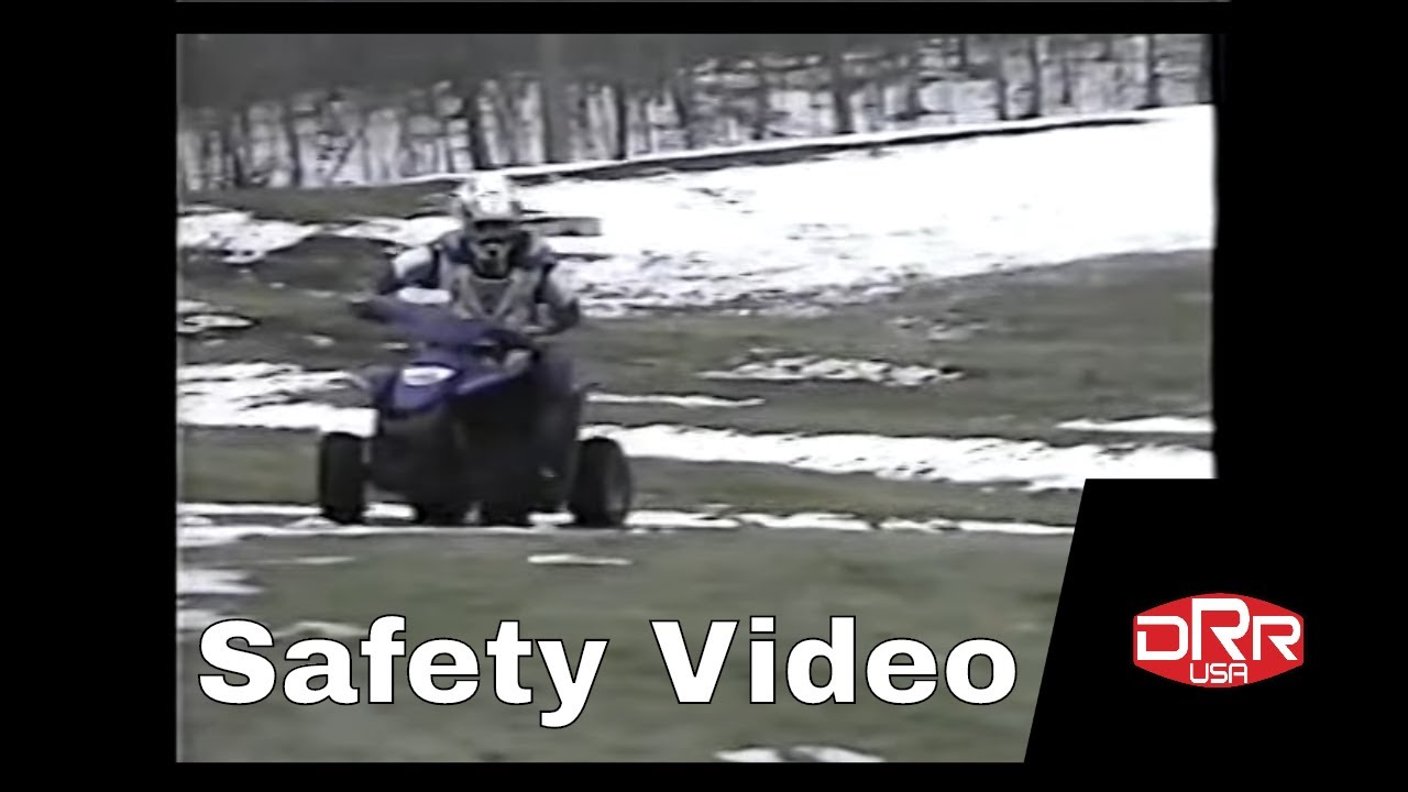 DRR USA ATV Kid's Safety Video for Mini Quad Racing
