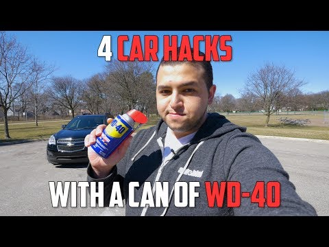 Top 4 Insanely Useful Uses For WD-40   Car Hacks