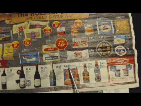 ASMR Soft Spoken ~ Aldi & Other Store Circulars ~ Show & Tell ~ Southern Accent