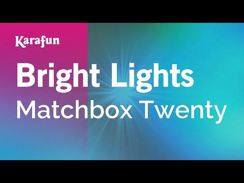 bright-lights---matchbox-twenty-|-karaoke-version-|-karafun