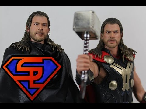 Thor The Dark World Hot Toys Thor & Light Asgardian Armor 1/6 Scale Movie Figure Review