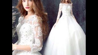 Новинки свадебных платьев с рукавом на AliExpress
