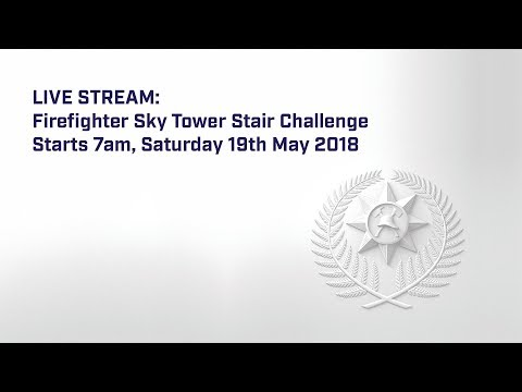 LIVE STREAM: Firefighter Sky Tower Stair Challenge 2018