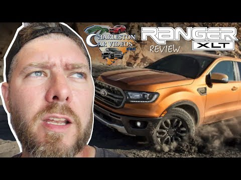 My 1st Time Seeing the 2019 Ford Ranger XLT Sport!!! ( Review & Tour of Features/Options )