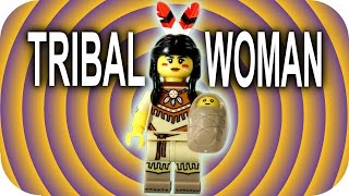 LEGO Tribal Woman CMF Minifigures Series 15 With How to Find Guide