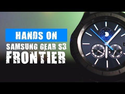 Samsung Gear S3 Frontier : Smartwatch Komplit Fitur Ngga Pelit