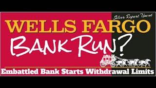 Economic Collapse News - Possible Bank Runs At Wells Fargo After Shares Plummet