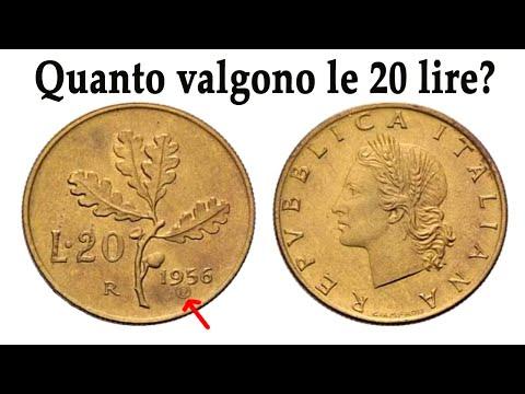 Quanto Valgono Le 20 Lire Italiane?