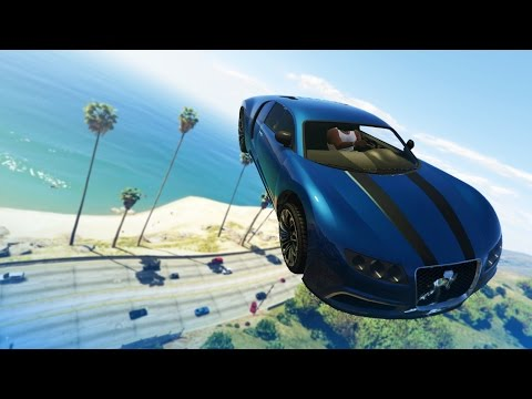 GTA 5 Stunts: Impossible Car Stunt! - (GTA V Stunts & Fails)
