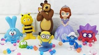 Іграшки з Мультиків. ORBEEZ, Disney, Міньйон, Ам Ням та інші