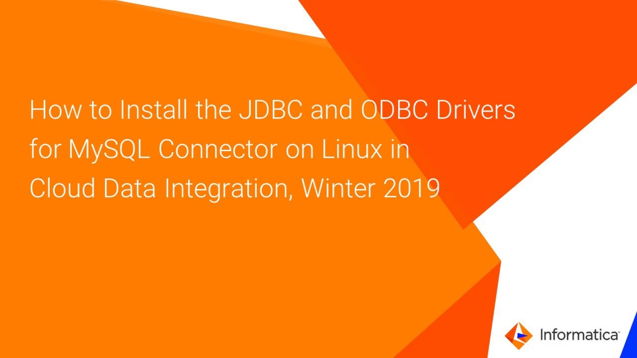 how to install jdbc drivers on linux - Experts-Exchange