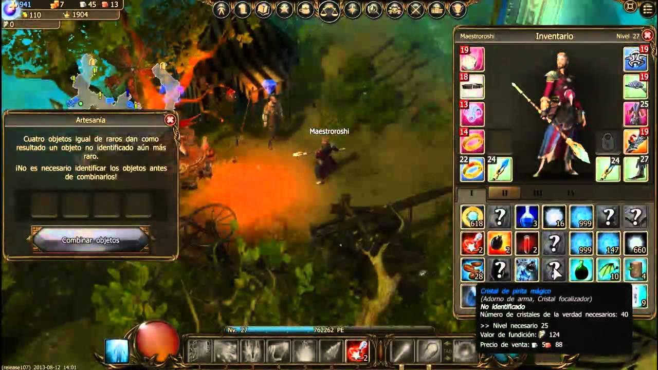 Mmorpg Gratis Sin Descargar Drakensang Online Jugando Como Mago Y