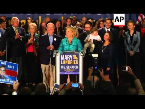 Democratic incumbent Senator Mary Landrieu and Republican Bill Cassidy will face off in a December 6