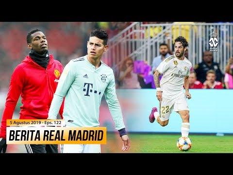 Real Madrid Ingin Tukar James Rodriguez Dengan Pogba ● Manchester City Kembali Inginkan Isco Alarcon