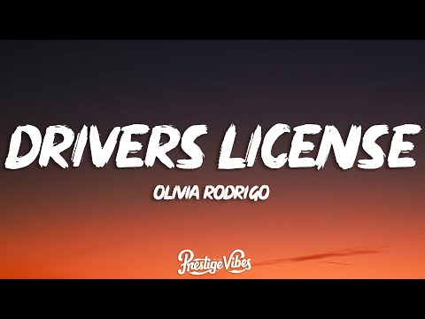 Olivia Rodrigo - drivers license (Lyrics) cause you said forever, now I drive alone past your street