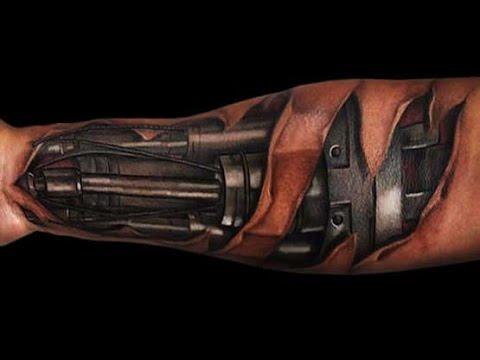 Robot tattoo machine