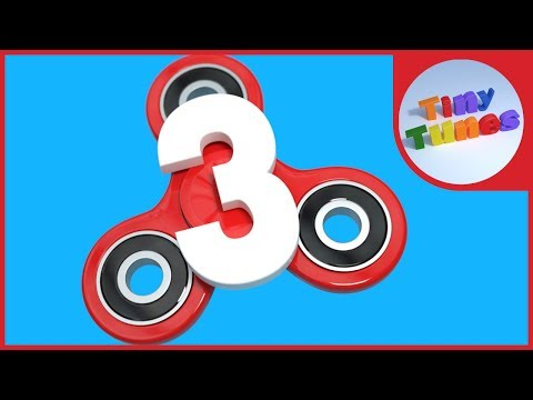 Counting by  3s with Fidget Spinners - Skip Counting by 3