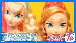 Karlar Ülkesi Karlar Kraliçesi Elsa ve Prenses Anna market alışverişi - EvcilikTV