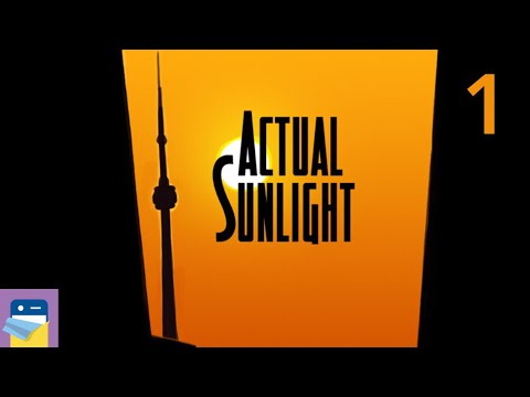 Actual Sunlight: iOS iPhone Gameplay Walkthrough Part 1 (by WZO Games / Will O'Neill)
