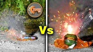 Petrol + Lakshmi Cracker VS petrol + Atom Bomb | Experiment | Kovai 360
