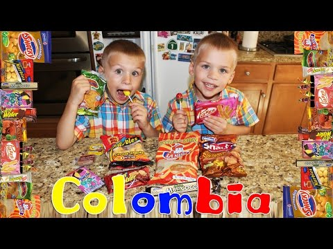 Kids Try Foods From Colombia!