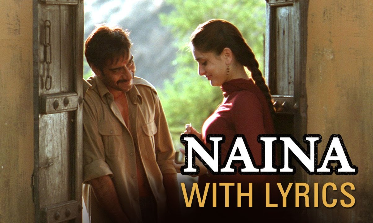 Naina Song With Lyrics  Omkara  Ajay Devgn Saif Ali Khan Vivek