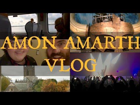 VLOG: AMON AMARTH VICAR STREET DUBLIN 2016