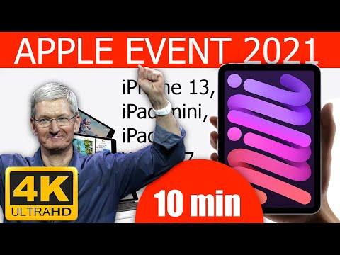 💡 L'iPhone 13 d'Apple en 10 minutes. Événement Apple — 14 septembre 2021