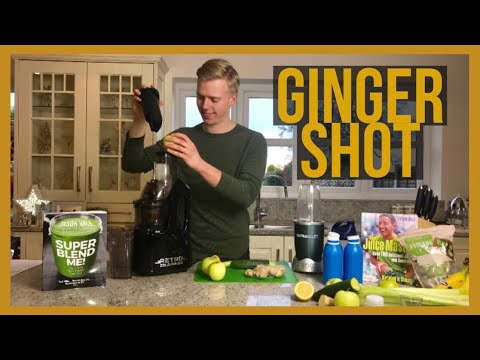 Ginger Shot | How to make a Ginger Shot in seconds