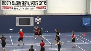 UK Indoor Nationals Women - Thunder Pirates vs Dazed Ladyshapes