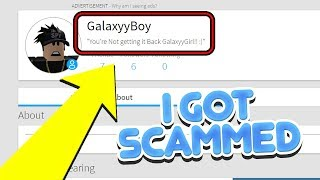 I GOT SCAMMED BY MY FRIEND ON ROBLOX!! *wow*