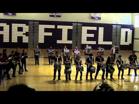 Moses Lake High School Drumline Garfield Set List 2014