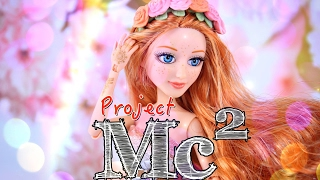 unbox Daily: Project MC2 Ember's Glitter Tattoos - Doll Review - 4K