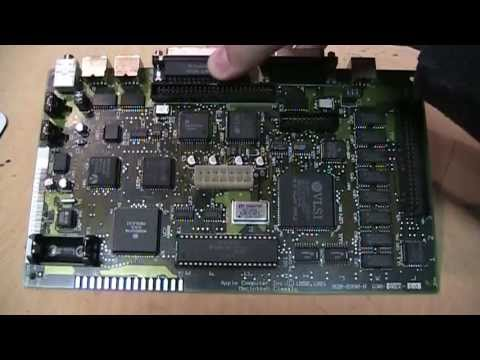 MacCaps Macintosh Classic logic board repair
