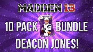 MUT 13 | 10 Pack Playoff Bundle | Deacon Jones!