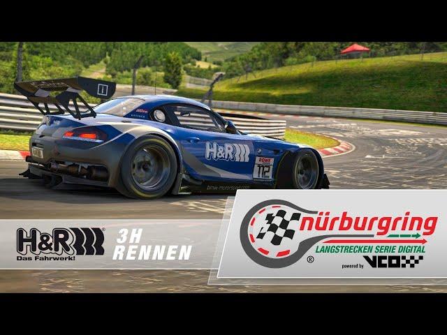 H&R 3h-Rennen – Digitale Nürburgring Langstrecken-Serie powered by VCO