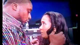 Aj goes beserk, big e tries to kiss her
