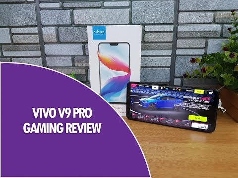 Vivo V9 Pro Gaming Review with Asphalt 9 and PUBG Mobile, Heating And Battery Drain